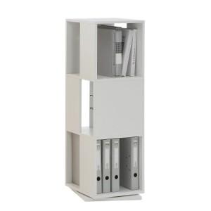 Regalwürfel für Aktenordner ♥ Regal Weiß 30 cm Tief