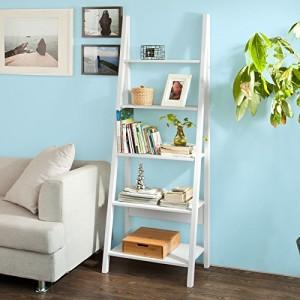 Bücherregal, mit fünf Böden  ♥ Wandboard 15 cm Tief