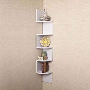 Eckregal Weiß Holz ♥ Regal 20 cm tief♥ Regal 20 tief