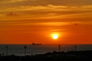 Regal Weiß - Sonnenuntergang