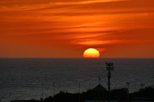 Regal Weiß - Sonnenuntergang II