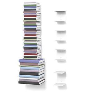 home3000 Unsichtbares Bücherregal  ♥ Bücherregal nicht tief♥ Regal 19 cm tief