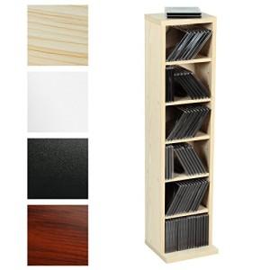 CD-Regal aus Holz mit 6 Fächer  ♥ Regal 20 cm tief♥ CD Regal 20 cm breit