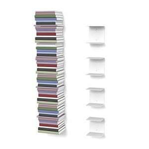 Unsichtbares Bücherregal mit 8 Fächern  ♥ Kommode 30 cm Tiefe