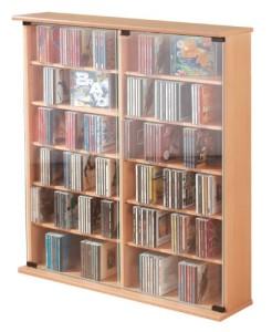 CD/DVD-Turm für  300 CDs ♥ Regal 18 cm Tief♥ Regal 18 cm tief